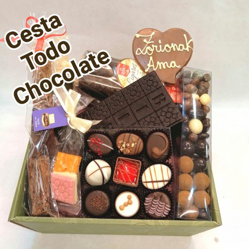 cesta chocolate