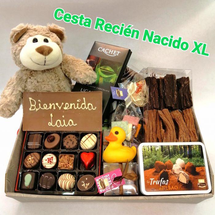 CESTA RECIEN NACIDO XL